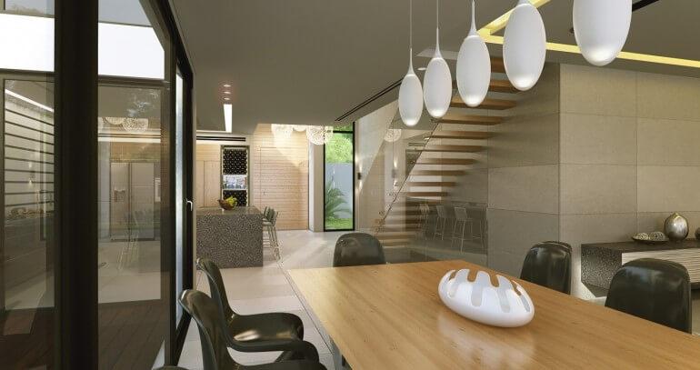 עבודת אדריכלות בבית פרטי