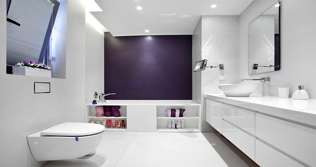 עיצוב חדר שירותים ואמבטיה